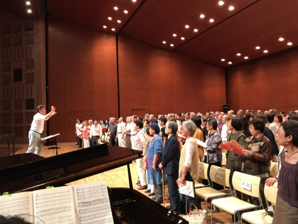 神戸市民の第九 合唱練習