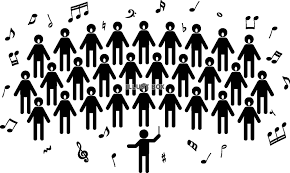 無料イラスト 合唱 コーラス ピクトグラム
